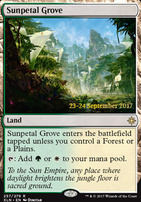 Promotional: Sunpetal Grove (Prerelease Foil)