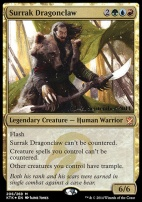 Promotional: Surrak Dragonclaw (Prerelease Foil)