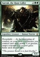 Promotional: Surrak, the Hunt Caller (Prerelease Foil)