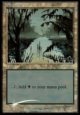 Promotional: Swamp (Arena 2001 Foil)