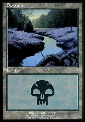 Promotional: Swamp (Euro Set Blue)