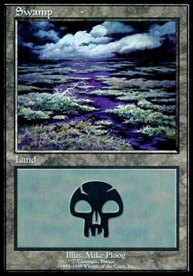 Promotional: Swamp (Euro Set Purple)