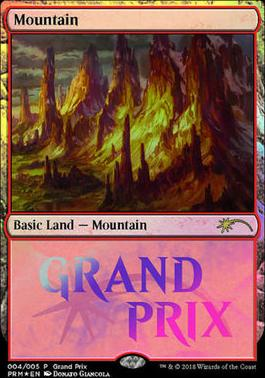 Promotional: Mountain (Grand Prix Foil)
