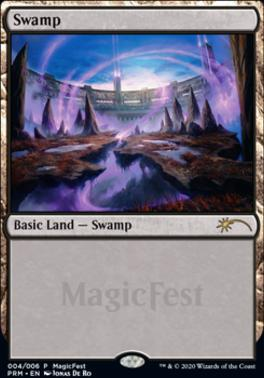 Promotional: Swamp (MagicFest Foil - 2020)