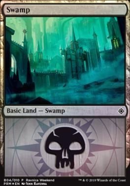 Promotional: Swamp (Ravnica Weekend - B04 Foil)