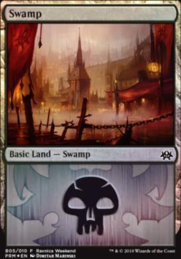 Promotional: Swamp (Ravnica Weekend - B05 Foil)