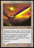 Promotional: Sword of Feast and Famine (Judge Foil)
