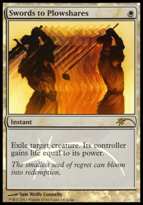 Promotional: Swords to Plowshares (Judge Foil)