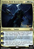 Promotional: Tamiyo, Field Researcher (Prerelease Foil)