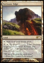 Promotional: Tectonic Edge (FNM Foil)