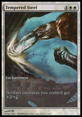 Promotional: Tempered Steel (Game Day Extended Art Foil)