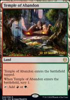 Promotional: Temple of Abandon (Prerelease Foil)