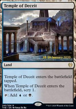 Promotional: Temple of Deceit (Prerelease Foil)