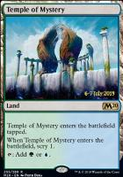 Promotional: Temple of Mystery (Prerelease Foil - M20)
