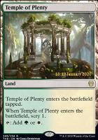 Promotional: Temple of Plenty (Prerelease Foil)