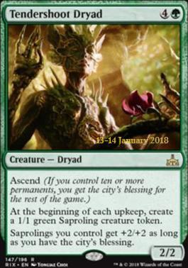 Promotional: Tendershoot Dryad (Prerelease Foil)