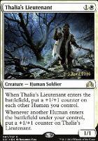 Promotional: Thalia's Lieutenant (Prerelease Foil)