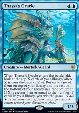 Promotional: Thassa's Oracle (Prerelease Foil)