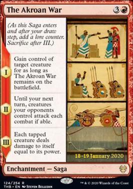 Promotional: The Akroan War (Prerelease Foil)