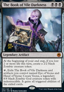 Promotional: The Book of Vile Darkness (Prerelease Foil)