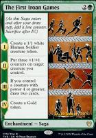 Promotional: The First Iroan Games (Prerelease Foil)