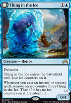 Promotional: Thing in the Ice (Prerelease Foil)