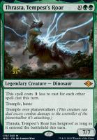 Promotional: Thrasta, Tempest's Roar (Prerelease Foil)