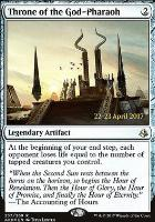 Promotional: Throne of the God-Pharaoh (Prerelease Foil)