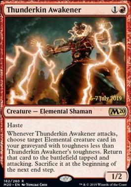 Promotional: Thunderkin Awakener (Prerelease Foil)