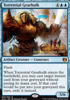 Promotional: Torrential Gearhulk (Prerelease Foil)