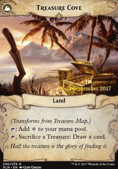 Promotional: Treasure Map (Prerelease Foil)