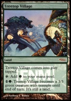 Promotional: Treetop Village (FNM Foil)
