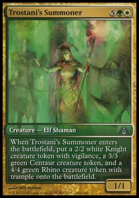 Promotional: Trostani's Summoner (Game Day Extended Art)