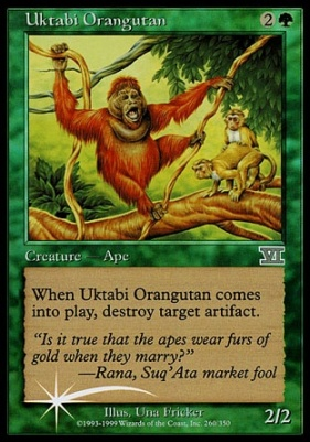 Promotional: Uktabi Orangutan (Arena Foil)