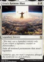 Promotional: Urza's Ruinous Blast (Prerelease Foil)