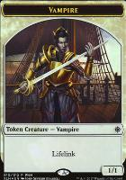 Promotional: Vampire Token - Treasure Token (FNM Foil)