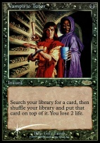 Promotional: Vampiric Tutor (Judge Foil (2000))