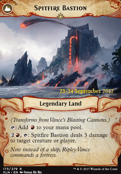 Promotional: Vance's Blasting Cannons (Prerelease Foil)