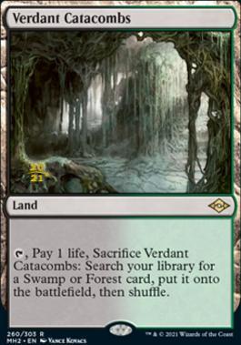 Promotional: Verdant Catacombs (Prerelease Foil)