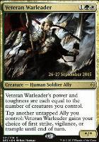 Promotional: Veteran Warleader (Prerelease Foil)