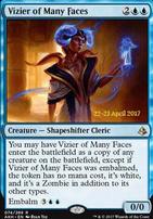 Promotional: Vizier of Many Faces (Prerelease Foil)