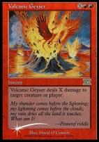 Promotional: Volcanic Geyser (FNM Foil)