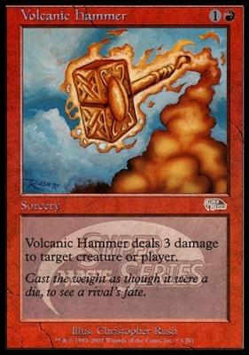 Promotional: Volcanic Hammer (JSS Foil)