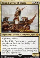 Promotional: Vona, Butcher of Magan (Prerelease Foil)