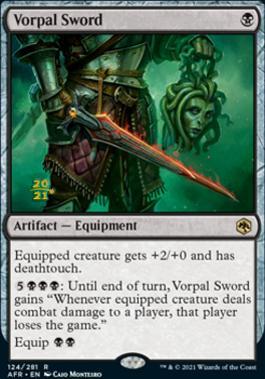 Promotional: Vorpal Sword (Prerelease Foil)