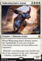 Promotional: Wakening Sun's Avatar (Prerelease Foil)