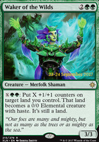 Promotional: Waker of the Wilds (Prerelease Foil)