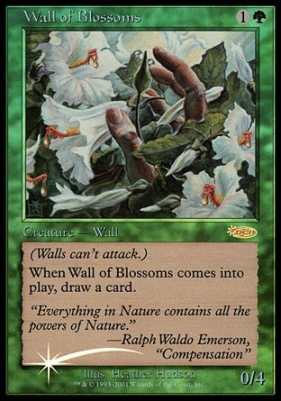Promotional: Wall of Blossoms (FNM Foil)