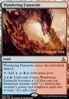 Promotional: Wandering Fumarole (Prerelease Foil)