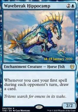 Promotional: Wavebreak Hippocamp (Prerelease Foil)